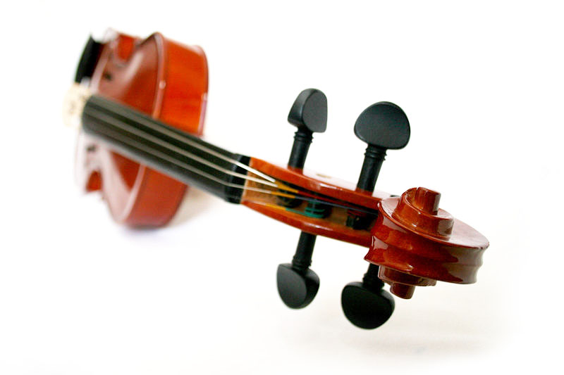 Violin (original photo by ZUU Mumu Entertainment)